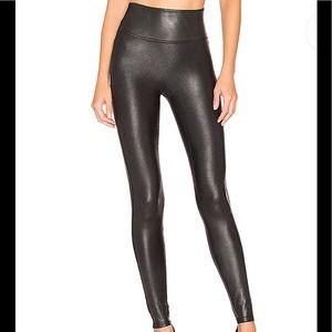 Spank faux leather leggings NWT